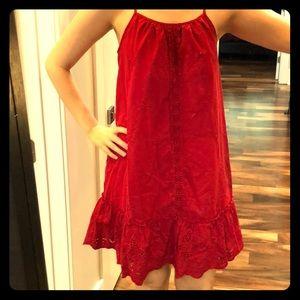Dresses & Skirts - Red sleeveless dress